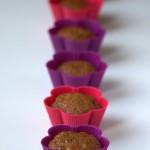 Muffinki gruszkowe z orzechami włoskimi