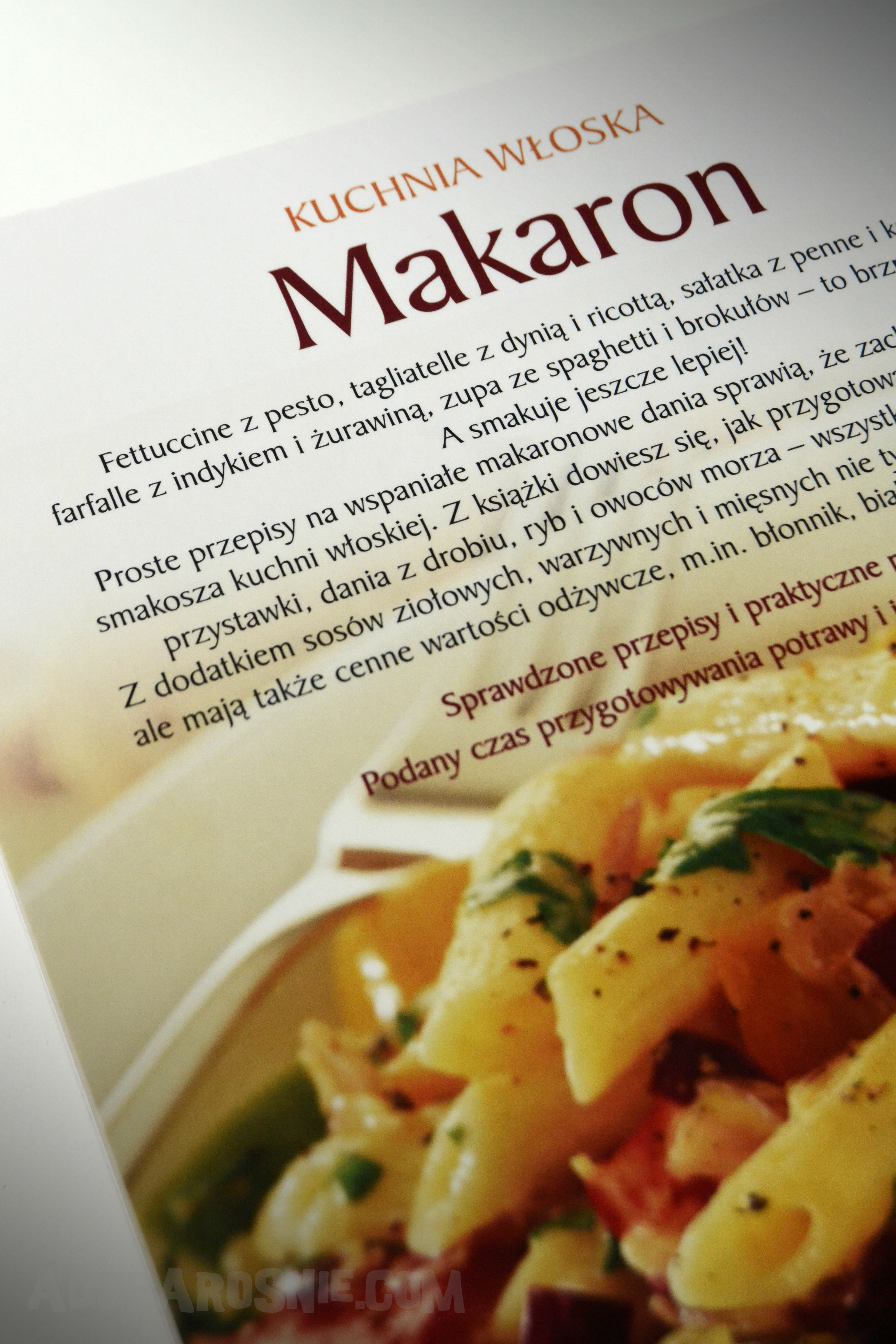 kuchnia włoska- makaron 6