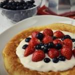puszysty omlet z owocami (2)