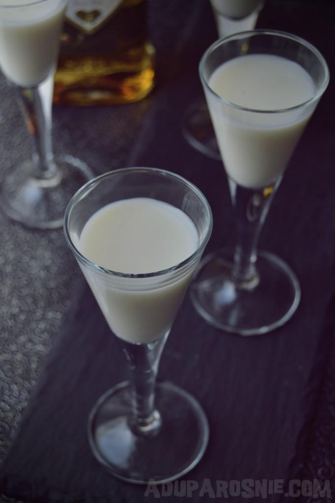 orzechówka z mlekiem